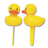 Rubber Ducky Cupcake Picks, Set of 12