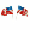 American Flag Cupcake Decorations, Set of 12