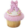 Ballet Slippers Cupcake Rings, Set of 12