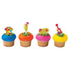 Luau Party Cupcake Picks, Set of 12