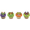 Scary Eyes Cupcake Rings, Set of 12
