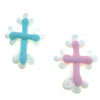 Icing Baby Christening Cross, Set of 6
