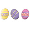 Icing Easter Egg Large Bright, Set of 12