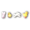 Icing Easter Shapes Small, Set of 20