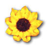 Icing Sunflower Large, Set of 9