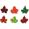 Icing Autumn Leaves, Set of 24