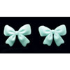 Fondant Bows Blue Set of 18