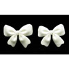 Fondant Bows White Set of 18