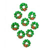 Icing Mini Wreath, Set of 9
