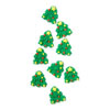 Icing Mini Christmas Tree, Set of 9