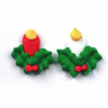 Icing Small Christmas Candles, Set of 12