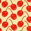 Cherries Chocolate Transfer Sheet