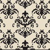 Damask  Black Chocolate Transfer Sheet