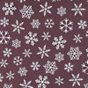 White Snowflakes Chocolate Transfer Sheet