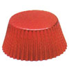 Muffin Cup Foil Red Med