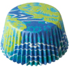 SALE!  Swedish Cupcake Liners. Turquoise, PKG of 20