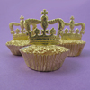 Muffin Cup Foil Gold Mini