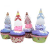 Cupcake Kit Princess Set of 24 Liners and Picks