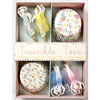 Cupcake Kit Twinkle Toes Set of 24 assorted liners and picks