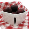 Porcelain Berry Basket, Plum Size