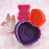 Cookie Stamp & Cutter Spring, Set of 4