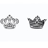 Royal Crowns Cookie Stencil , S