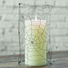 SALE!  Spider Web Candle Sleeve
