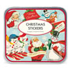 Cavallini Retro Christmas Stickers, Set of 100+