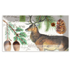 Michel Designs Balsam Fir Glass Plate